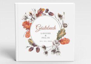 www.mylouise-hochzeitsshop.de Gästebuch Hochzeit Gästebuch Herbst