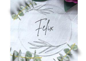 www.mylouise-hochzeitsshop.de Namenskarten Taufe Tischkarten Taufe Platzkarten